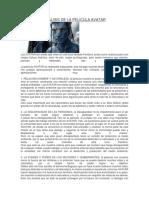 Analisis de La Pelicula Avatar