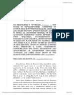 12. [Powers of Congress] Gutierrez v. HoR Committee (2011)