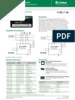 Littelfuse ProtectionRelays EL731 Datasheet