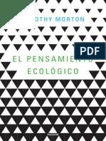 38763 El Pensamiento EcoloIgico