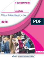 Guia de Orientacion Modulo de Investigación Saber Pro-2018