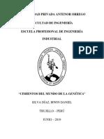 Genetica Mendelian monografia