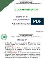 Aula 04-06-19 Diseño de Experimentos