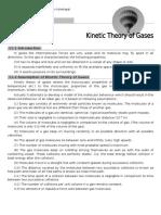 Kinetic theory of gases, Pradeep