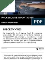 Exposicion de Proceso de Importacion en Comercio Exterior