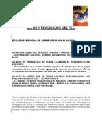 Mitos y Realidades. Ecuador.Patentes en la Naturaleza.
