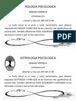 ASTROLOGIA PSICOLOGICA