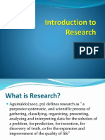01-What is Research