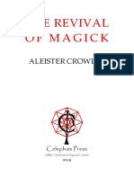 Crowley - The Revival of Magick