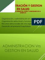 3-Administración y Organización en Salud