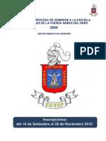 Bases Del Concurso de Admisin EOFAP 2020