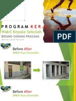 Program kerja WK Sarpras 2019/2010