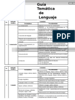 Guia Lenguaje de Estudio para Universidad