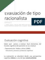 EVALUACION DE TIPO RACIONALISTA