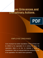 Employee Grievances Discipline and Counseling