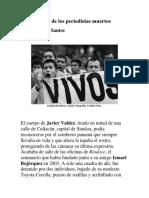Desde El País de Los Periodistas Muertos_Yaiza Santos