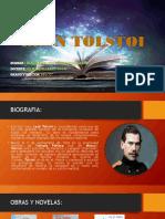 LEON TOLSTOI (1828-1910)