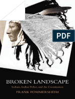 Broken Landscape, Indians, Indian Tribes, And the Constitution