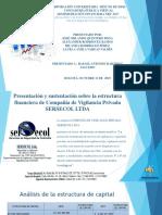 Presentación y Sustentación Sobre La Estructura Financiera de (1)