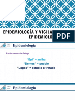 Epidemiología y Vigilancia Epidemiologica