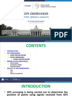 Lesson 9 Gps Observables