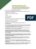 Encuadre, Objetivos y Fases Del PD - Sendín