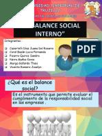 El Balance Social Interno Diapos Parte Juana Lucia