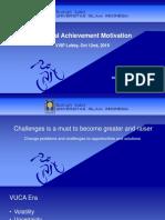 Spiritual Achievement Motivation