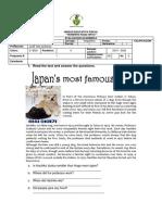 English Evaluation 19 Correction