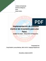 Caso de Estudio Control de Inventario Para Una Paca PDF