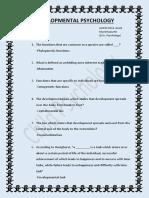 Developmental Psychology (Alwin)