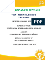 Romero Aguilar, Interacción en PAD 2 (Cuestionario)