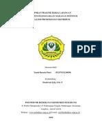 Laporan Analisis Persiapan, Produksi Dan Distribusi