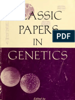 Peters Ja Classic Papers in Genetics