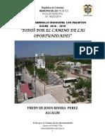 Plan Dllo 2016-2019 Los Palmitos