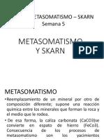 Metasomatismo Skarn