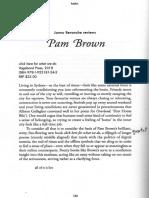 Jonno Revanche Reviews Pam Brown