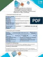 Guía de Actividades y Rúbrica de Evaluación - Fase 3 - Crear Documento Sobre Radiología Intervencionista Diagnostica en SNC y Cardiologia