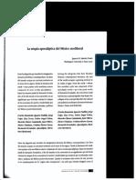 La utopía apocaliptica del Mexico neoliberal - Sanchez Prado