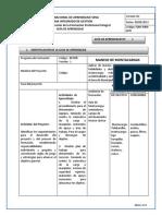1era Guia de Aprendizaje Cargue y Descargue. (1) Normas de Higiene y Seguridad