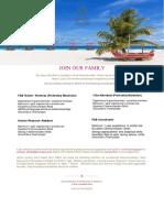 Job Posting _ Sun Aqua Vilu Reef 19 09 2019