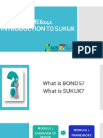 Module 1 - Overview of Sukuk