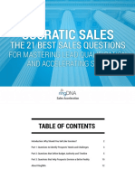 Socratic Sales the 21 Best Sales Questions for Mastering Lead Qualification and Acce