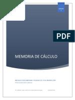 Memoria de cálculo  SANITARIA Y PLUVIAL.pdf