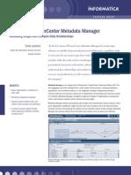 Power Center Metadata Manager