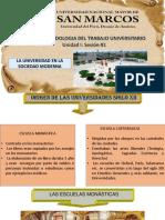 Importancia Universidad - Sesión 01