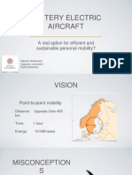 battery electric aircraft
