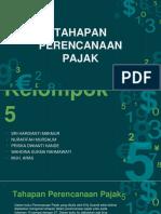Tahapan perencanaan pajak