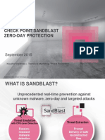 Sandblast Technical Presentation