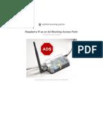 Raspberry pi as an ad blocking device